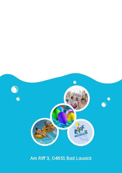 Einladung zum Geburtstag im Riff Freizeitbad 2 2
