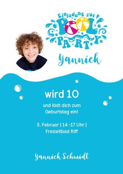 Einladung zum Geburtstag im Riff Freizeitbad 2 3