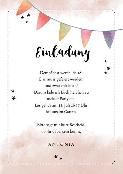 Einladung zum Geburtstag Kaum in Torte zu fassen 3