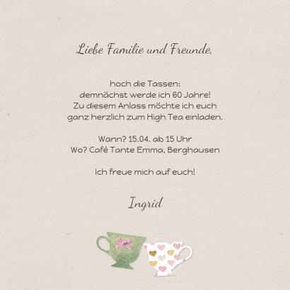 Einladung zum High Tea Geburtstag 3