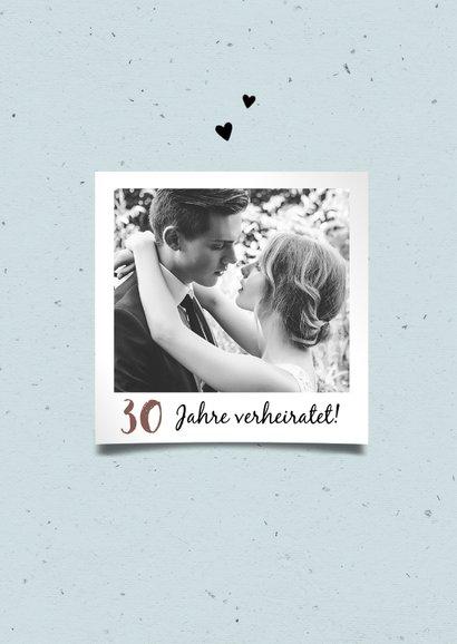 Einladung zum Hochzeitsjubiläum 2 Rosen 2