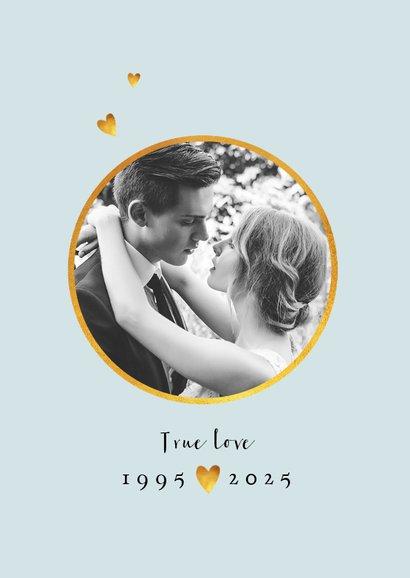 Einladung zum Hochzeitsjubiläum Mohnblumen 2