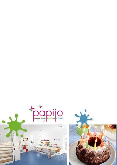 Einladung zum Kindergeburtstag im Papijo blau 2