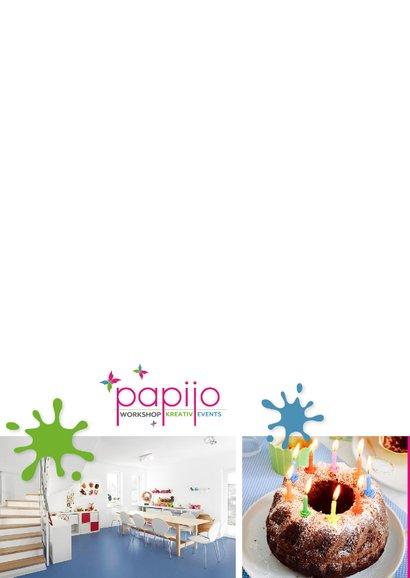 Einladung zum Kindergeburtstag im Papijo 2