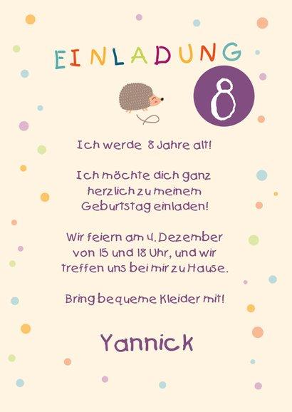 Einladung zum Kindergeburtstag Trampolin 3
