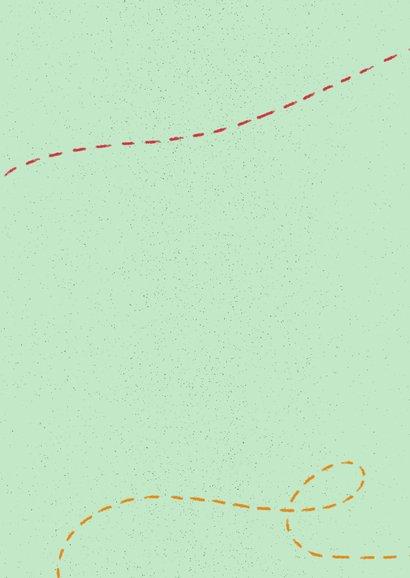 Einladung zum Minigolf Kindergeburtstag mit Foto Rückseite