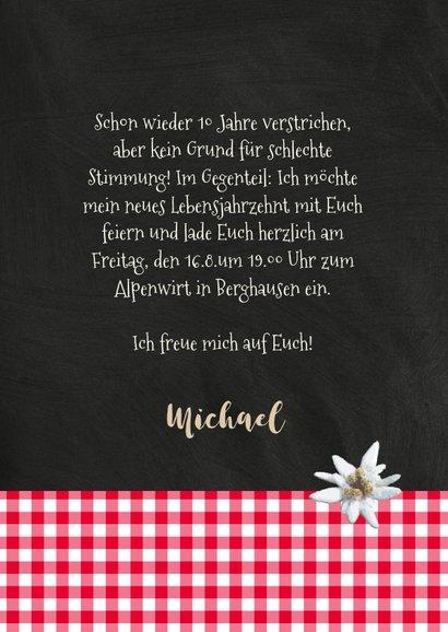 Einladung zum Oktoberfest Alpenhütte 3