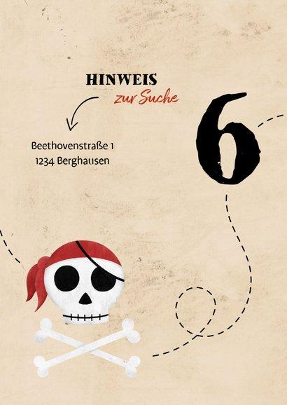 Einladung zum Piraten Kindergeburtstag 2