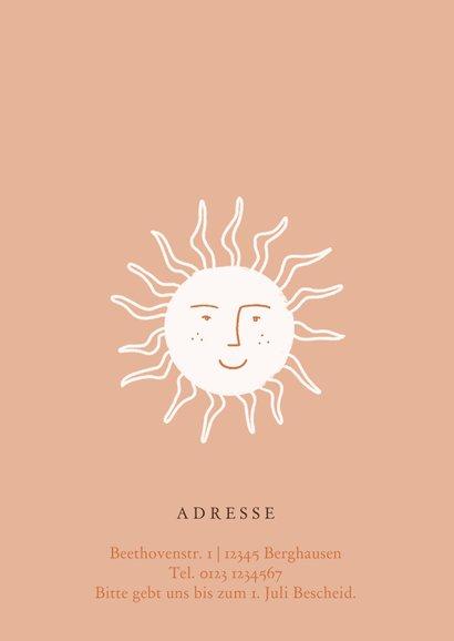 Einladung zum Sommerfest mit Sonne 2