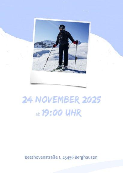 Einladung zur Après-Ski Party mit Bergen 2