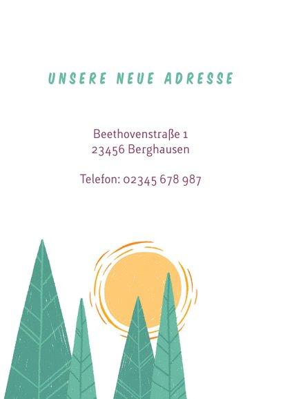 Einladung zur Einweihungsfeier mit Hütte im Wald 2