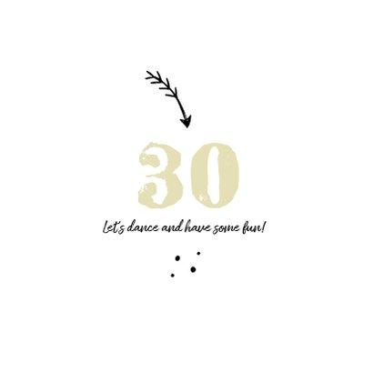 Einladung zur Geburtstagsparty Foto und Cocktailglas 2