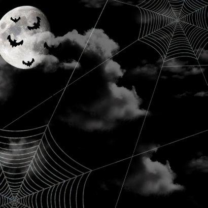 Einladung zur Halloweenparty Black sky 2