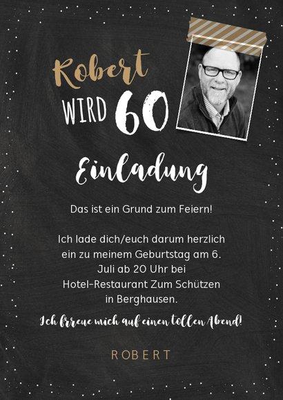 Einladungskarte Geburtstag Erfahrung 60 3