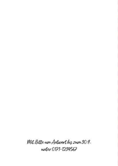 Einladungskarte Grillfest zur Rente 2