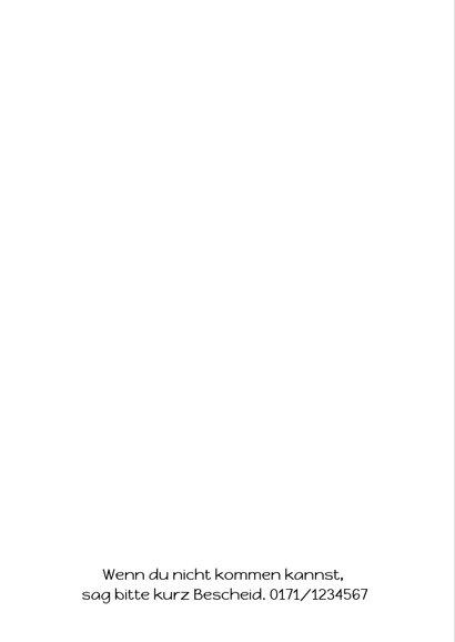 Einladungskarte Kindergeburtstag Minigolf 2