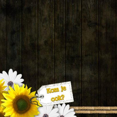 Feest bloemen zelf aanpassen m 2