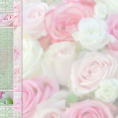 Feest met roze rozen 2