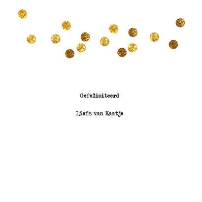 feestelijke felicitatiekaart met confetti 3