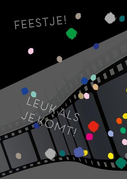 Feestje bioscoop confetti 2