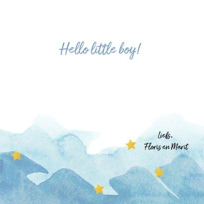 Felicitatie - born in 2019 (jongen) 3