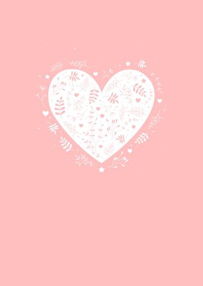 Felicitatie - Botanisch hart 2