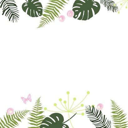 Felicitatie - Botanisch meisje 2