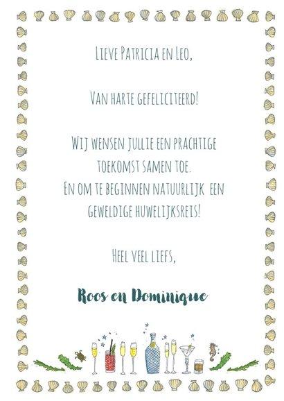 Felicitatie bruiloft zeemeermin en zeemeerman 3