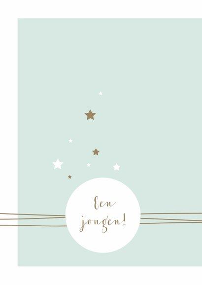 Felicitatie - Cirkel, lijnen en sterren 2
