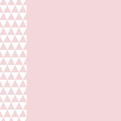 Felicitatie driehoek harten 2