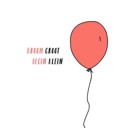 felicitatie geboorte beer en ballon 2