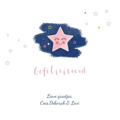 Felicitatie geboorte dochter A star is born 3