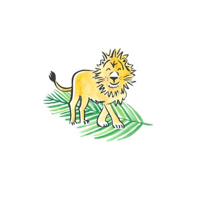Felicitatie geboorte kleine leeuw 2