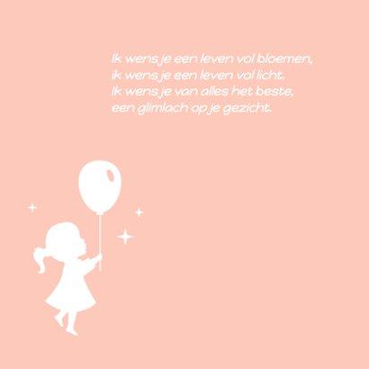 Felicitatie Geboorte Silhouetten 2
