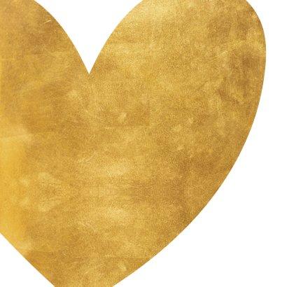 Felicitatie hart van goud 2