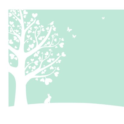 Felicitatie - Hartjesboom zoon 2