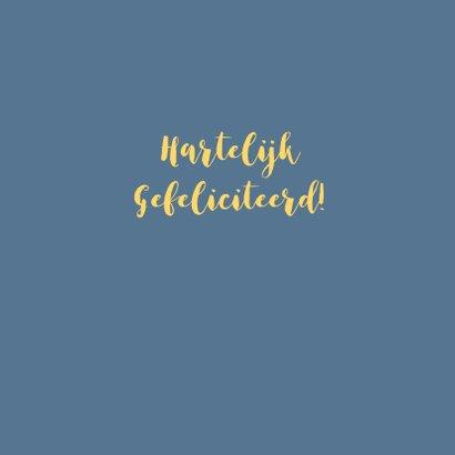 Felicitatie huwelijksjubileum goud 3