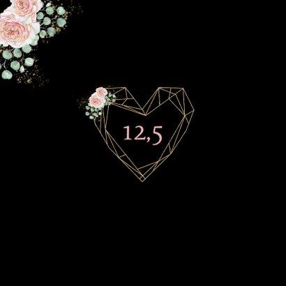 Felicitatie huwelijksjubileum rozen hart 2
