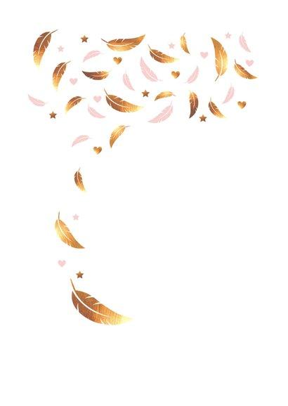 felicitatie-meisje-veren-goud 2
