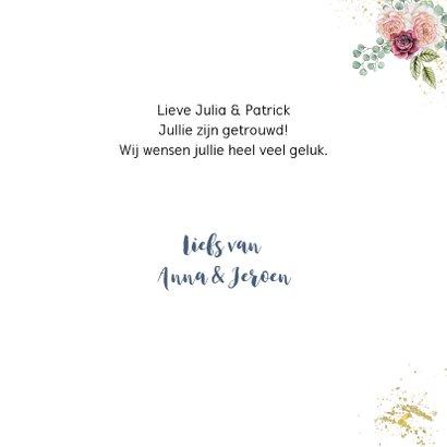 Felicitatie oldtimer huwelijk 3