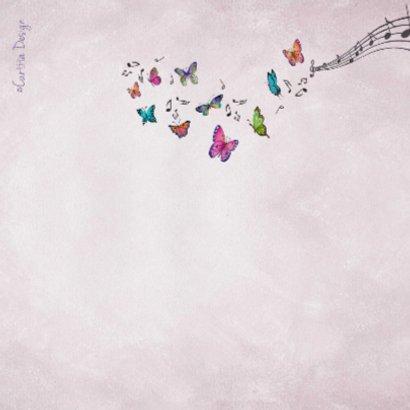 Felicitatie Piano Muziek Meisje 2