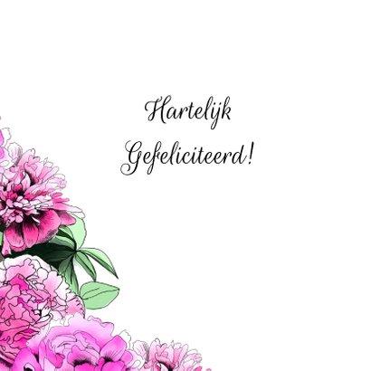 Felicitatie pioenbloemen 2
