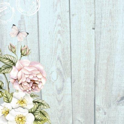 Felicitatie rozen vintage 2