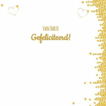Felicitatie sierlijk ster  hart 3