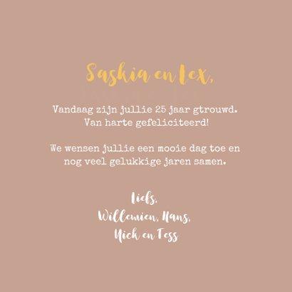 Felicitatie trouwjubileum Fleurig Boeket 3