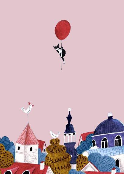 Felicitatie verjaardag luchtballonnen  2