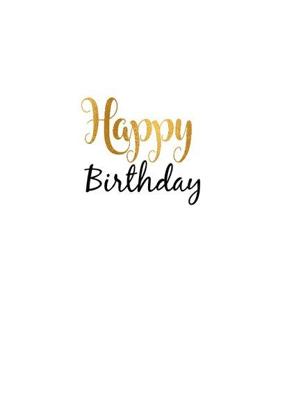Felicitatie Verjaardagskaart 60 goud 3