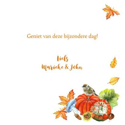 Felicitatie vogeltjes herfst 3