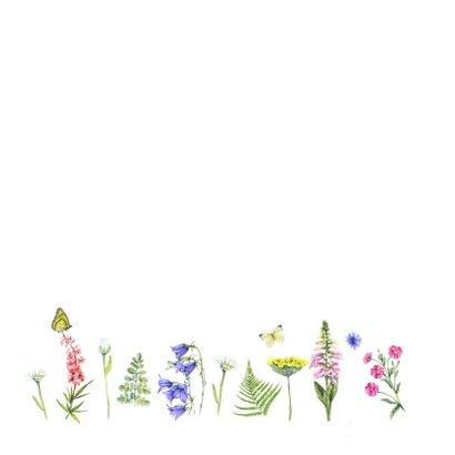 Felicitatie wilde bloemen 3