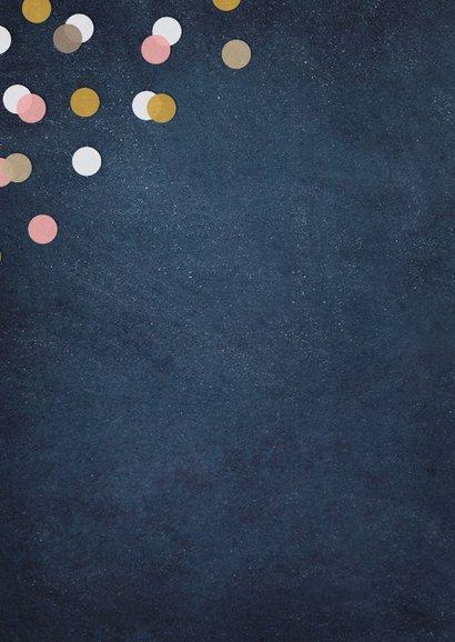 Felicitatie zwanger confetti woohoo mini versie op komst  2